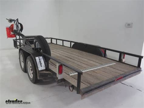 pack em rack for open utility trailers holds 1 backpack