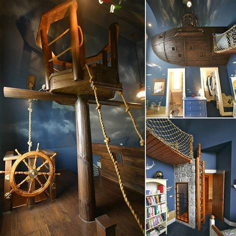 pirate bedroom pirate ship bedroom photos popsugar home