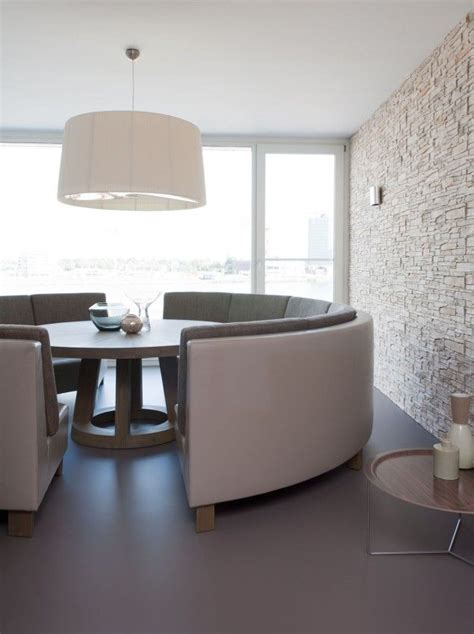 round banquette inspiration geometric interiors kym rodgerkym rodger