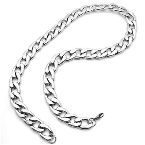 cadenas de acero inoxidable para hombre collar para hombre cadena de acero inoxidable s 243 lido