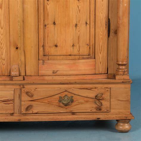 antique pine armoire exceptional antique country pine biedermeier armoire ebay