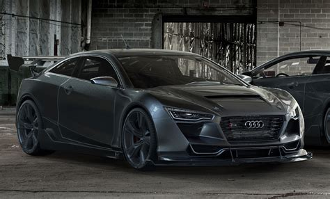 Audi R4 by The Audi R4 Concept Car Designed By Rene Garcia