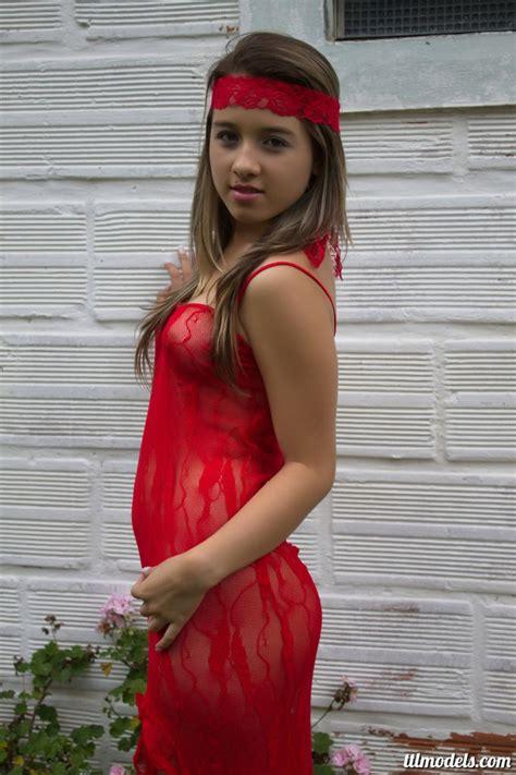 mary fitness teen model nicole red dress teen beauty fitness