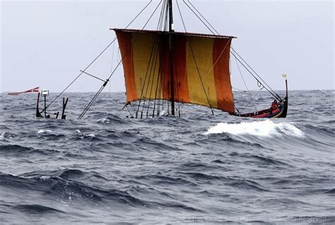 viking boats song the hardest voyage rowing and sailing a viking ship from