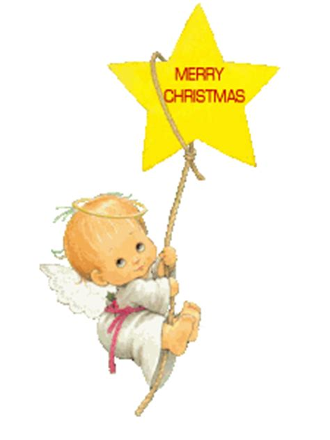 swinging on a star cartoon christmas angel clipart free holiday graphics