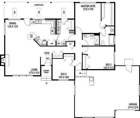 walk in pantry floor plans efficient floor plan 77128ld 1st floor master suite