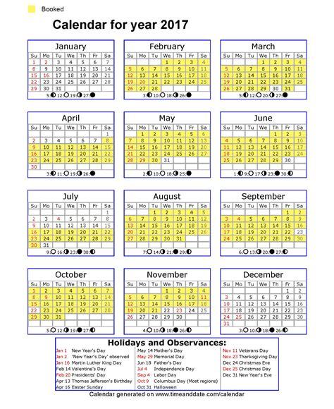 United States Of America Usa Calend 2018 2017 United States Calendar My