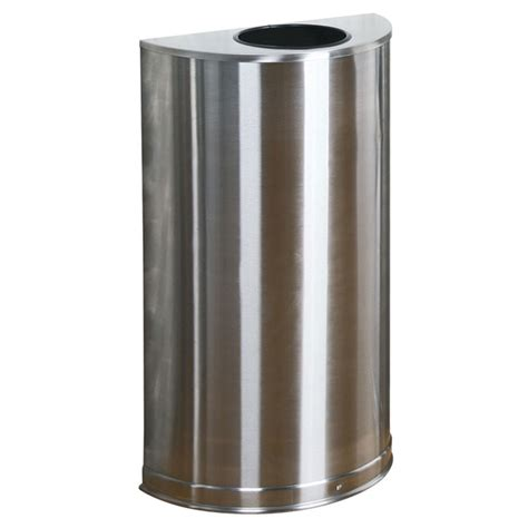 Decorative Trash Cans by Rubbermaid Fgso12ssspl 12 Gal Indoor Decorative Trash Can