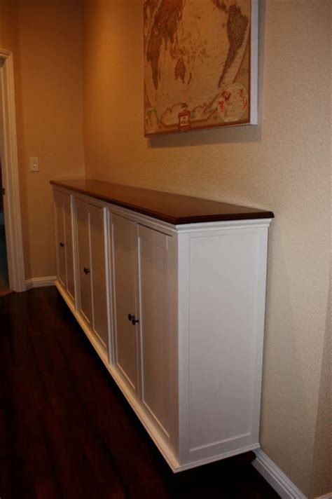 console hack hemnes add on unit transformed into console ikea hackers