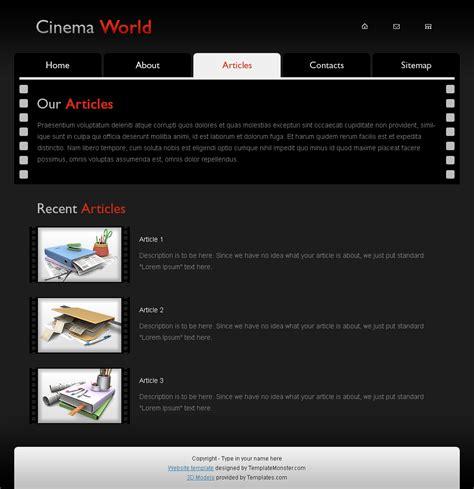 web templates for articles 無料ですさまじく使い勝手が良く参考にもなるpsdファイルのウェブデザインテンプレート10種類 gigazine