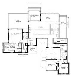 Single Story Floor Plans Contemporary House Plans Single Story Modern Ranch Single Story Home