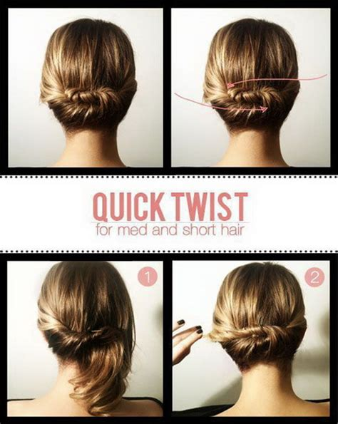 do it yourself styles for short hair easy do it yourself hairstyles for long hair