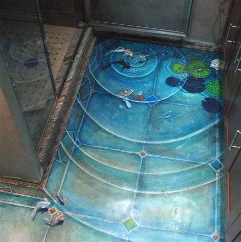 3d bathroom art epoxy painted 3d flooring art and 30 3d bathroom floor