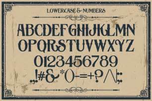 Victorian Queen Anne 10 fantastic high quality old fashioned vintage fonts