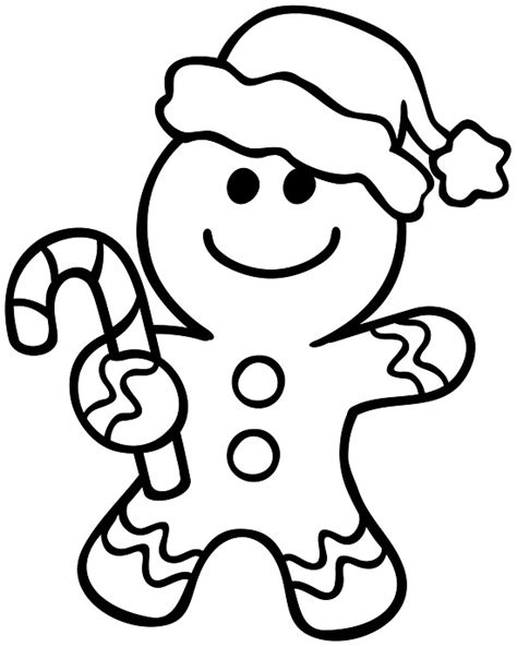 Coloring Pages Gingerbread Printable Gingerbread Man Coloring Pages Coloring Me