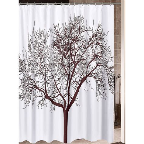 shower curtain cool cool polyester water proof coffee tree shower curtains