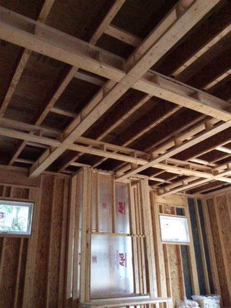 Coffered Ceiling Framing Building Your Own Custom Home Series Part Xv Framing Ndi