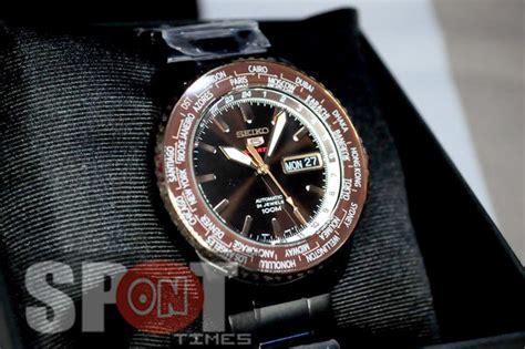 Seiko 5 Sports Automatic World Time Srp132 Seiko 5 Sports Automatic World Time S Srp132k1
