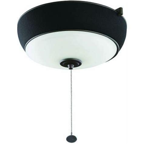 hton bay bronze ceiling fan audio light kit with