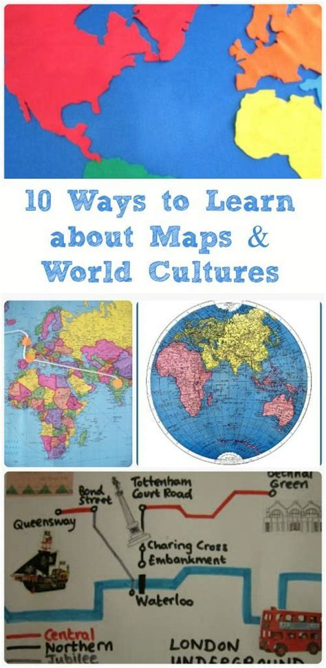 geography crafts for 25 best ideas about map activities on social