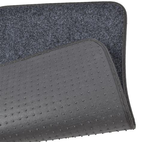vinyl rug pad car floor mats for sedan suv 4 carpet liner vinyl heel pad ebay