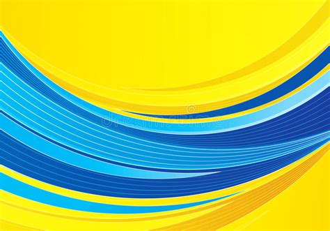 background design yellow blue blue and yellow background composition stock vector