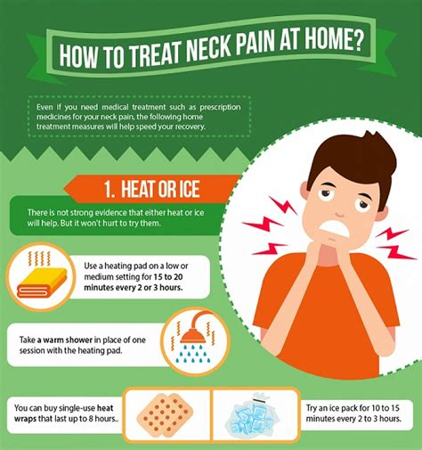 infographic how to treat neck at home designtaxi