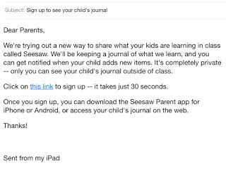 Parent Letter Seesaw Grade Funtastic Getting Started On Seesaw