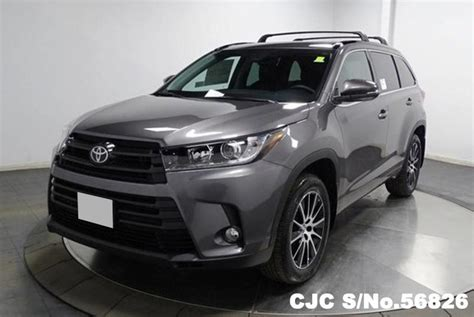 Toyota Of The Black Brand New 2017 Left Toyota Highlander Predawn Gray