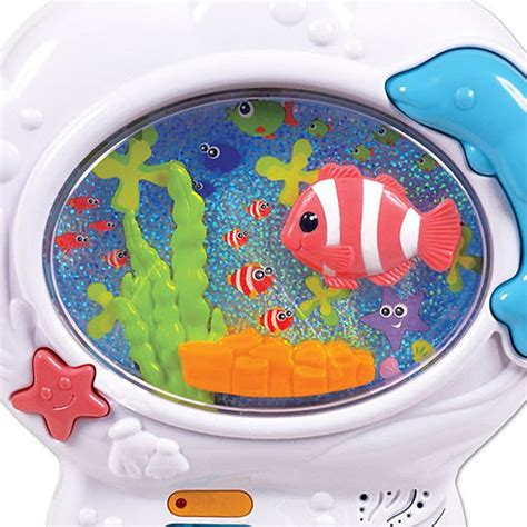 Baby Crib Fish Tank by Musical Fish Tank Baby Soother Crib Educational Toys
