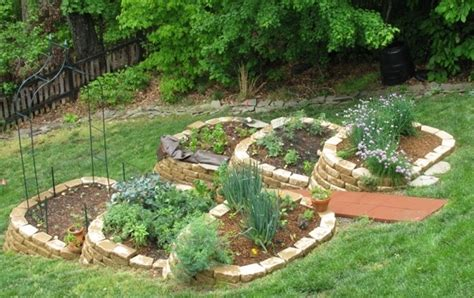 herb garden design for hillsides herb garden design