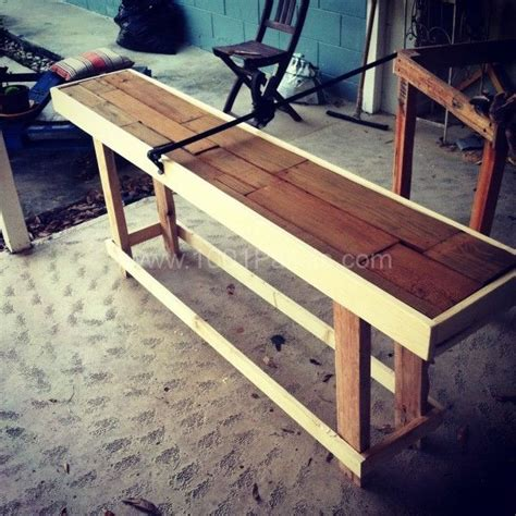 how to make a cheap bench how to make a buffet table out of pallets woodworking projects plans