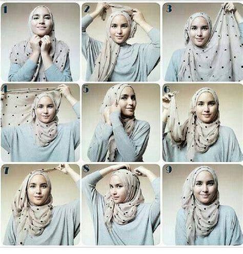 hijab tutorial everyday simple hijab 10 طرق لف الحجاب بالصور والخطوات عرب فاشون