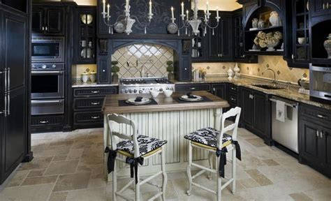 kitchen ideas black cabinets 23 beautiful kitchen designs with black cabinets