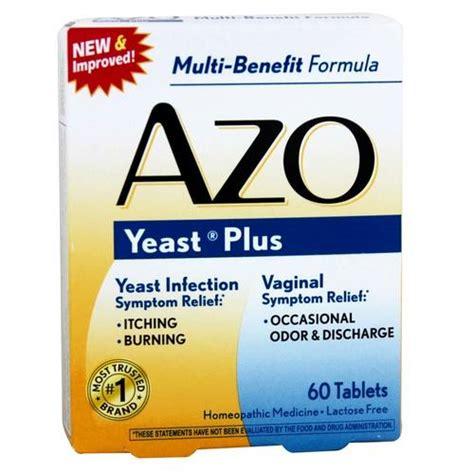 Azo Detox Pills by Azo Yeast Plus 60 Tablets Evitamins