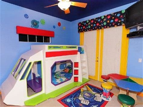 buzz lightyear bed buzz lightyear room complete with rocket bunk bed big