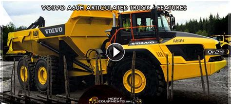 specalog volvo ag ag articulated dump trucks specs heavy equipment