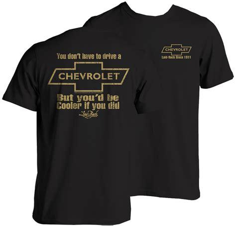 chevrolet t shirts chevrolet cooler t shirt chevymall