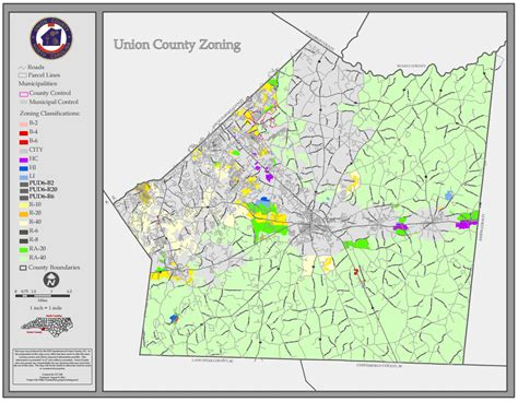 zip code map union county nc union county standard maps