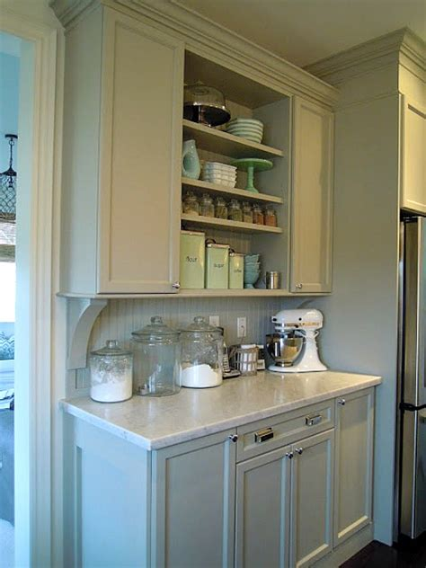 How To Organize Kitchen Cabinets Martha Stewart Chris Kauffman S Kitchen Built In Hutch Hooked On Houses