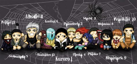 spiders by umihoshi on deviantart
