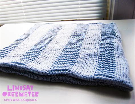 Easy Knit Baby Blanket For Beginners by Easy Knit Baby Booties Allfreeknitting