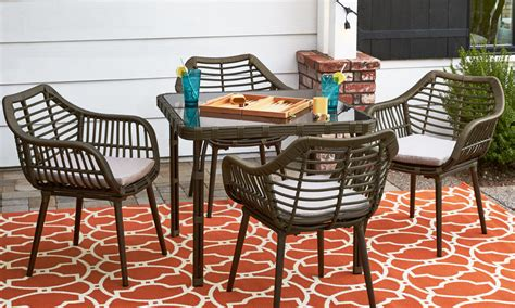 patio dining sets for small spaces how to choose patio furniture for small spaces overstock com