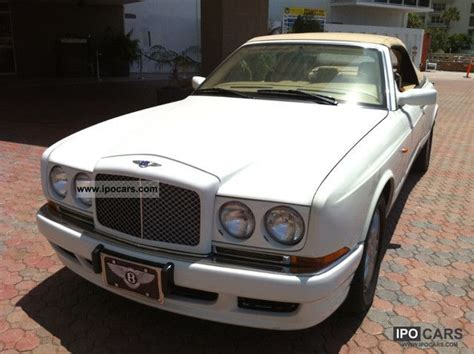 bentley azure white 1999 bentley azure convertible in white fine car photo