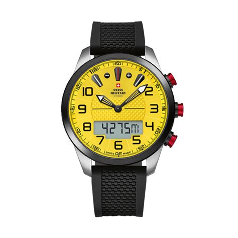 Swiss Navy 1133mb Coklat Yellow In Collection swiss gent s chronograph with silicone 438497 ideal world