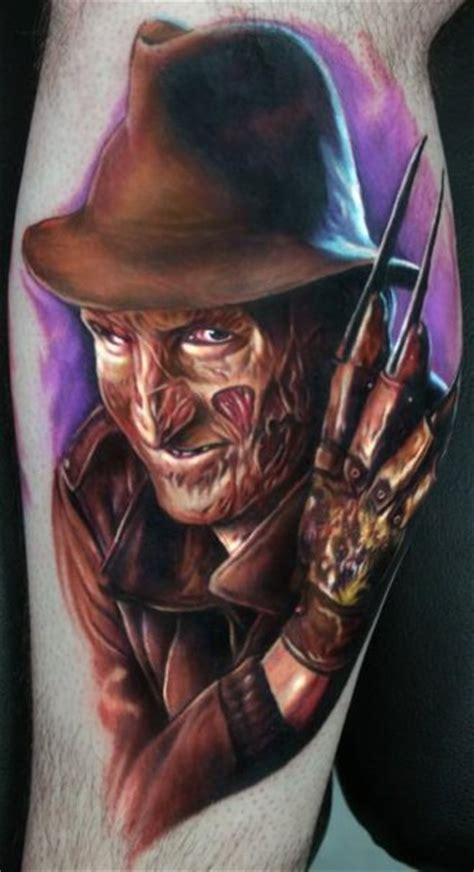 best freddy krueger tattoos perfect tattoo artists