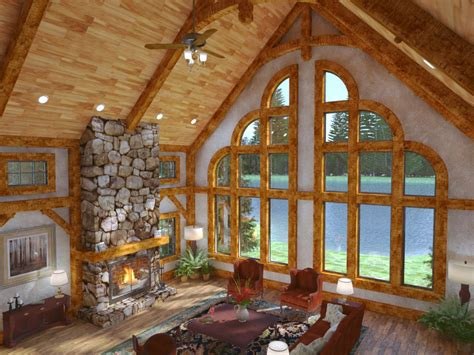 Large Mansion Floor Plans by Golden Eagle Log And Timber Homes Exposed Beam Timber