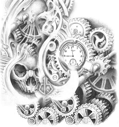 compass tattoo with gears steunk compass tattoo google search steunk ideas
