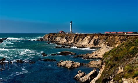 California Light by Point Arena Light Is A Lighthouse In Mendocino County
