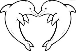 dolphin coloring page dolphin coloring pages and print for free